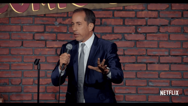 Watch the first trailer for Jerry Seinfeld's new Netflix stand-up special