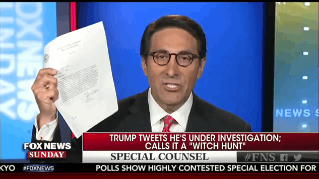 "Donald Trump's Lawyer: ""Trump is Being Investigated But Also, He Isn't"""
