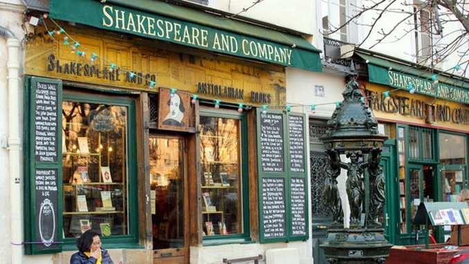 Take Five: English-Language Bookstores in Paris