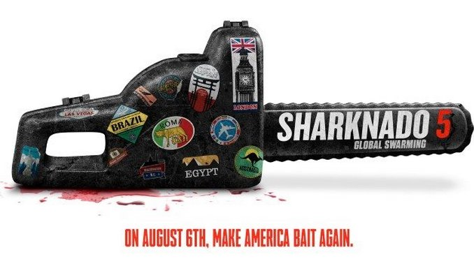 Sharknado 5 Announces New Title, Premiere Date, and Loads of Cameos