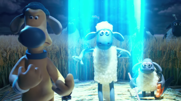Aliens Take Over in First Teaser for <i>A Shaun the Sheep Movie: Farmageddon</i>