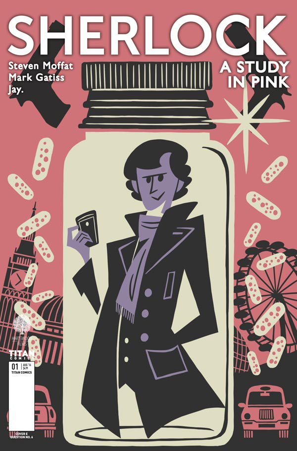 Titan Comics Sherlock Manga Is Coming To America