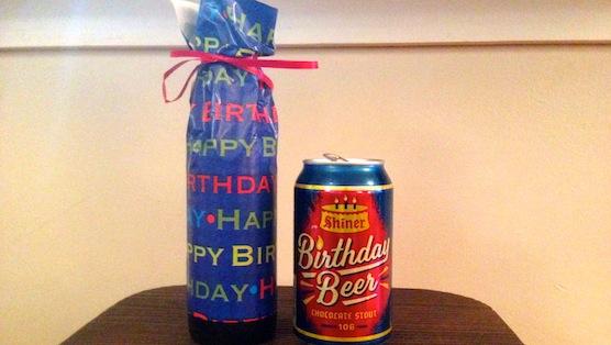 Birthday Cake Beer Shiner
