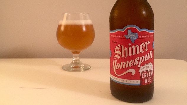 Shiner Homespun Cream Ale Review
