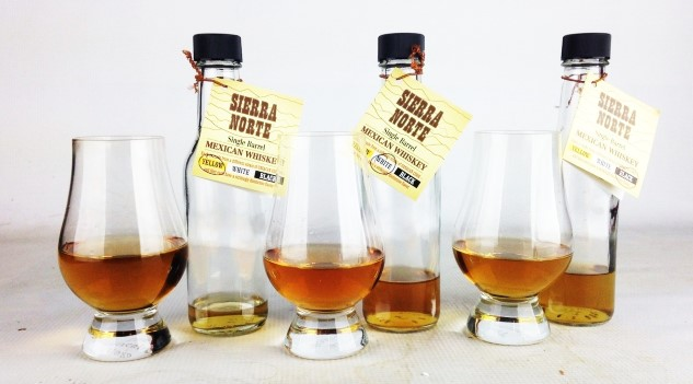 Sierra Norte Single Barrel Whiskey Review: White Corn, Yellow Corn and Black Corn Whiskey