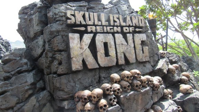 Universal's Newest Ride—Skull Island: Reign of Kong