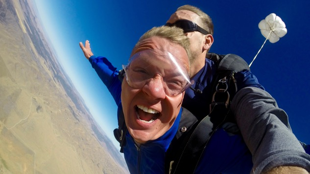 Off The Grid: Went Skydiving Today. Didn't Die.