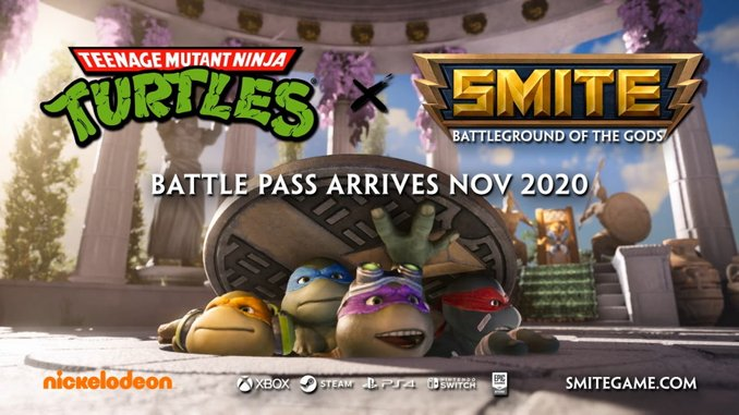 Cowabunga? <I>SMITE</I> Is Adding the Teenage Mutant Ninja Turtles to Its Roster