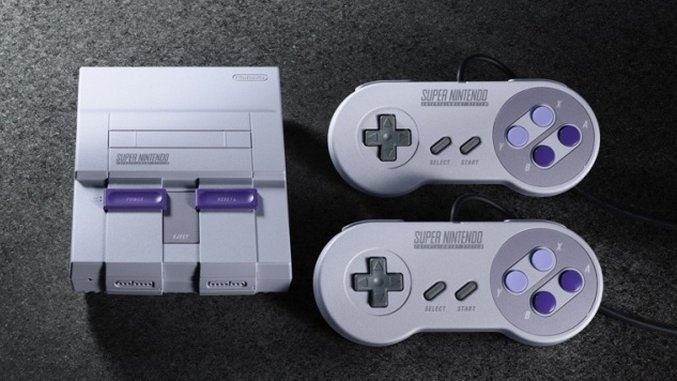 The SNES Classic: A Midlife Crisis in a Box