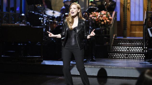 Jessica Chastain Good, <i>SNL</i> Fine