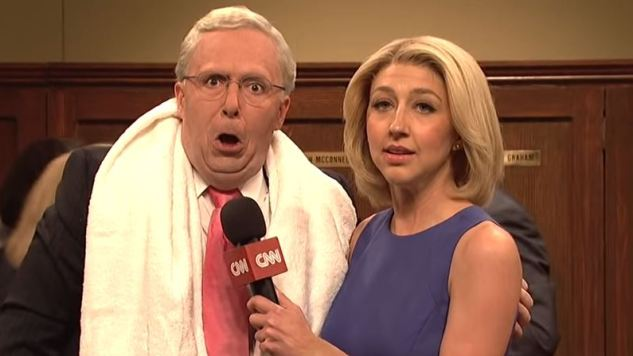 <i>Saturday Night Live</i> Reveals the GOP's Post-Kavanaugh Victory Celebration