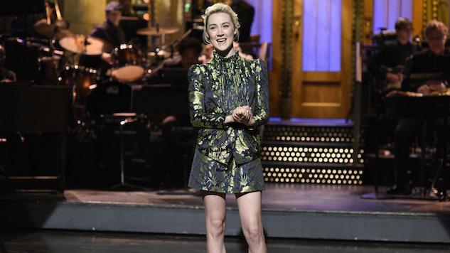 "<i>Saturday Night Live</i> Review: ""Saoirse Ronan / U2"""