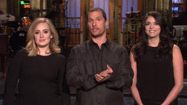 "<i>SNL</i> Review: ""Matthew McConaughey/Adele"""