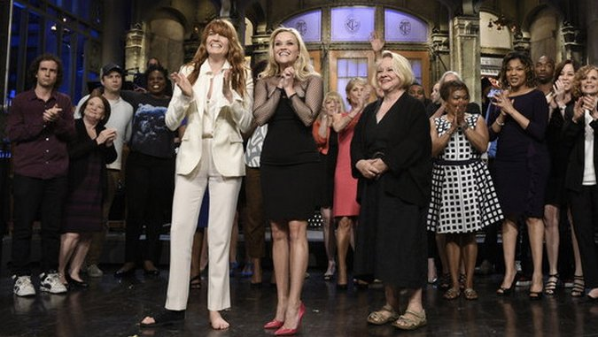 "<i>Saturday Night Live</i> Review: ""Reese Witherspoon/Florence + the Machine"""