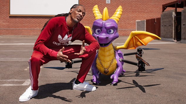 Cute Couple Alert: Snoop Dogg and This Spyro the Dragon Drone
