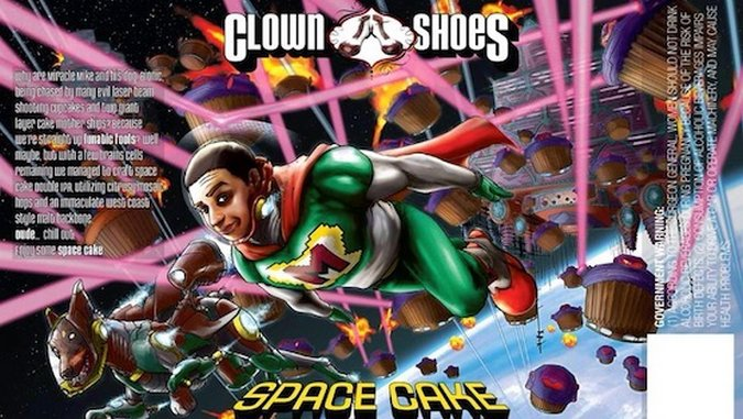 Clown Shoes Space Cake DIPA Review
