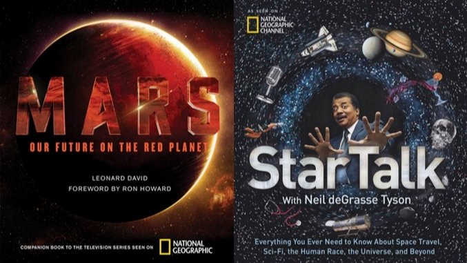 2016 Gift Guide: Books about Space