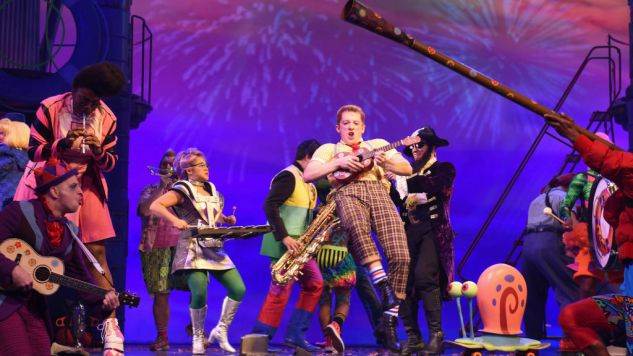 Every Calamitous, Horny Thought I Had at <i>Spongebob Squarepants: The Musical</i>, in Chronological Order