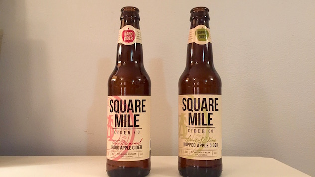 Double Review: Two Ciders from Square Mile Cider Company