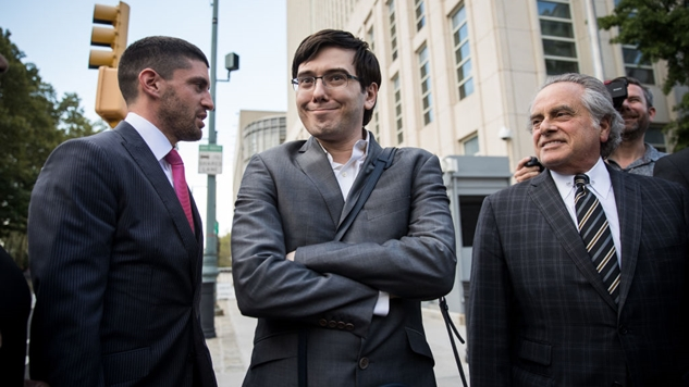 Shkreli Sentenced: Slammed by Own Solicitor, Sobs in Sorrow, Sent to Slammer for Seven