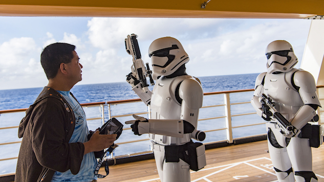 Cruising With Force During Star Wars Day at Sea