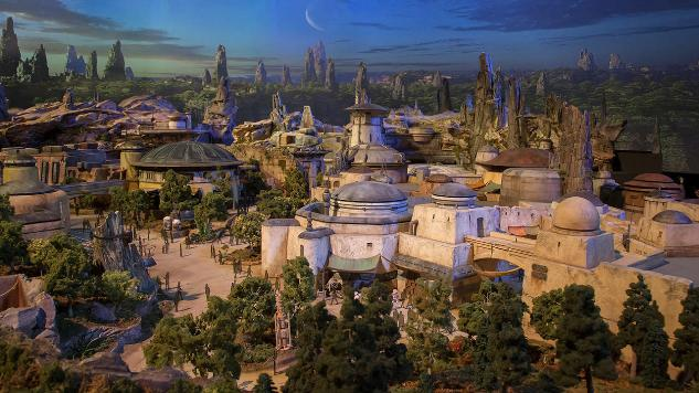 Star Wars: Galaxy's Edge Is the Name of Disney's Star Wars Theme Park Area