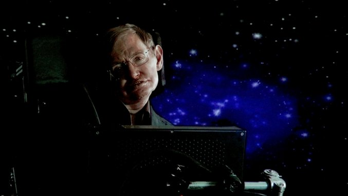 Stephen Hawking, the Sci-Fi Universe and Everything