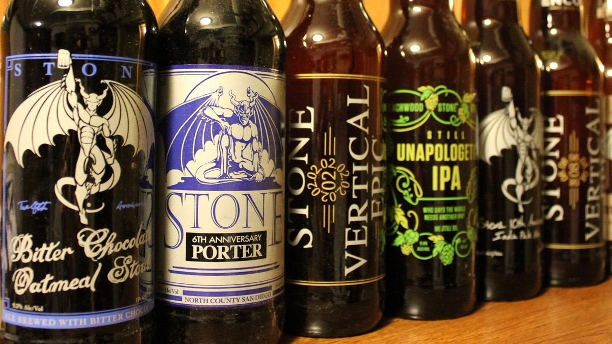 Tasting Stone Brewing's 20th Anniversary Beers