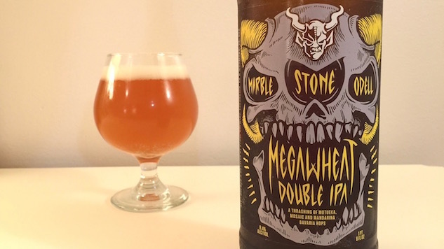 Stone MegaWheat DIPA Review