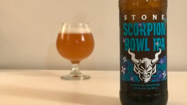 Stone Scorpion Bowl IPA Review and 3 More Passion Fruit Beers