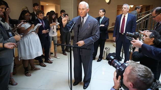 Trump Adviser Roger Stone Brags About Communicating with Julian Assange, Gets Caught