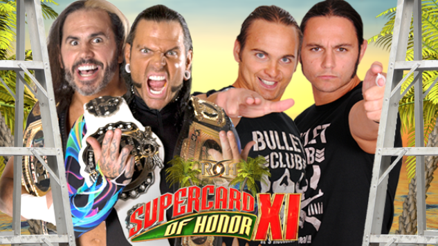 Ring of Honor's Supercard of Honor XI Is Now an iPPV