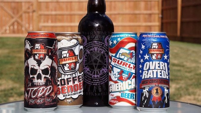 Top 5 Beers from Surly Brewing