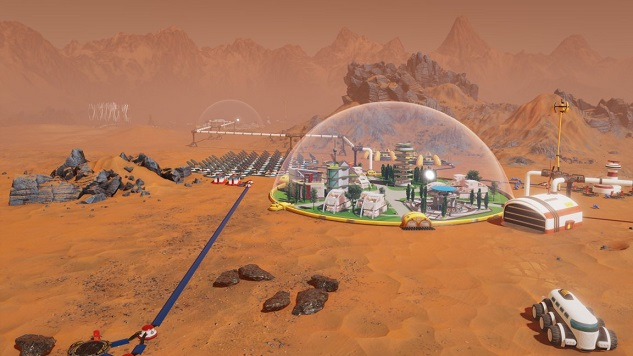 <i>Surviving Mars</i> Is a City Builder With Too Much Strategy