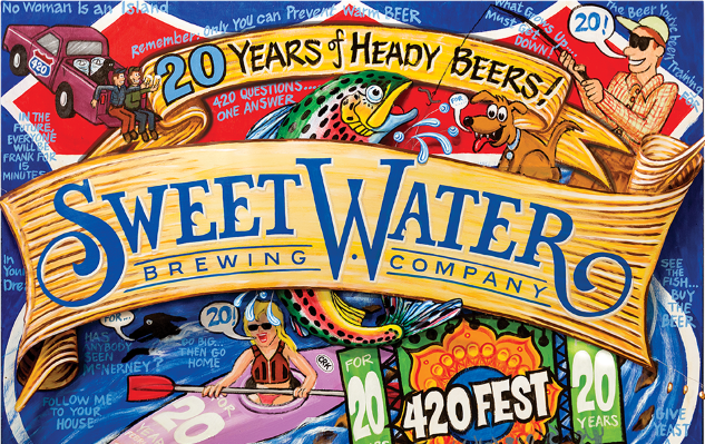 20 Years of SweetWater: How 420 and Hop Hash Built the Southeast's Biggest Craft Brewery