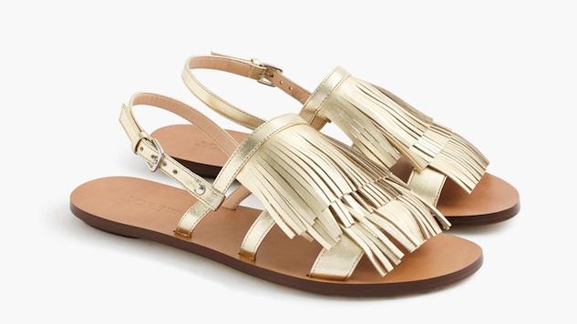 Pom Pom and Tassel Sandals Ready for Spring