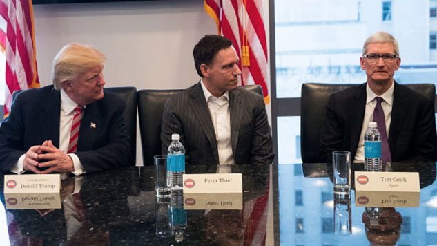 Tech's Giants Have United Against One Foe: Trump