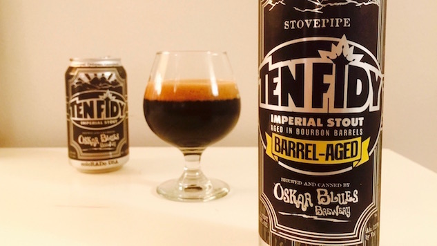 Oskar Blues Barrel Aged Ten Fidy Review