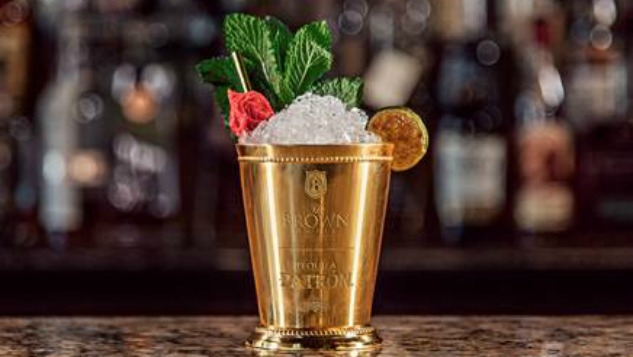 This Tequila-Based Mint Julep Costs $1500