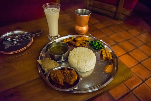 what to eat in kathmandu before trekking food lists On kitchen set in nepal