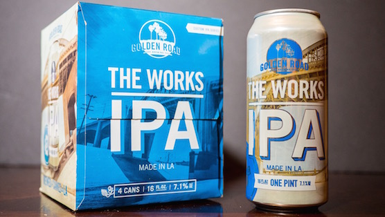 Golden Road Brewing The Works IPA Review