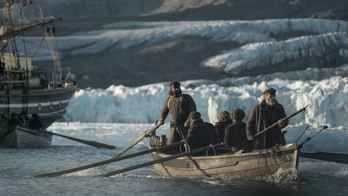<i>The North Water</i> Trailer: Jack O&#8217;Connell, Colin Farrell Lead an Arctic Whale Hunt in AMC+ Series