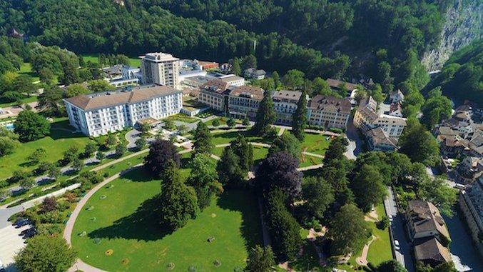 Hotel Intel: Grand Resort, Bad Ragaz, Switzerland