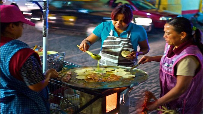 Take Five: Street Food in Puebla City, Mexico
