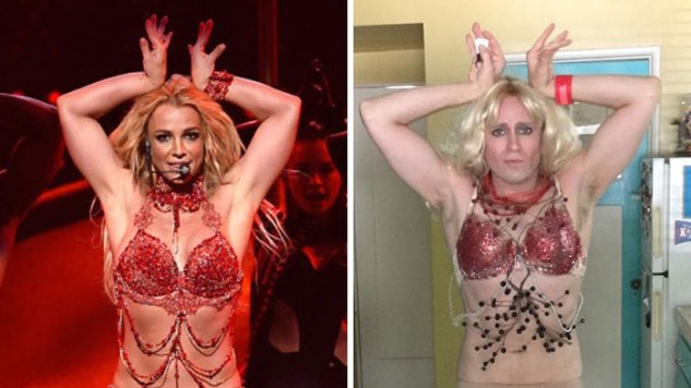 Red Carpet DIY: <i>Buffy</i> Actor Tom Lenk Remakes Famous Celebrity Photos at Home