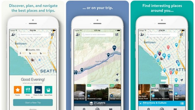 10 Essential Travel Apps for iOS - Paste on map wedding, map travel, map project,