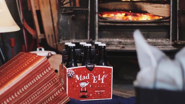 10 Beautiful Christmas Beer Labels