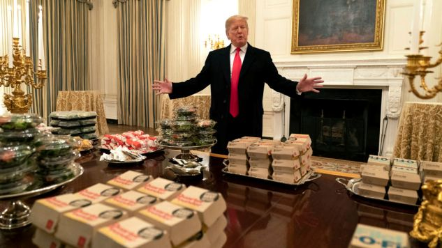 The Funniest Tweets About Trump's Fast Food Feast for Clemson's Football Team