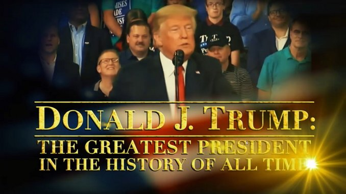 <i>The Daily Show</i> Reminds Us That Trump Is the Greatest President of All Time, Ever, in History, in This Mock RNC Biopic