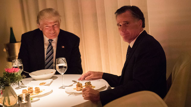 The Funniest Tweets About the Trump/Romney Dinner